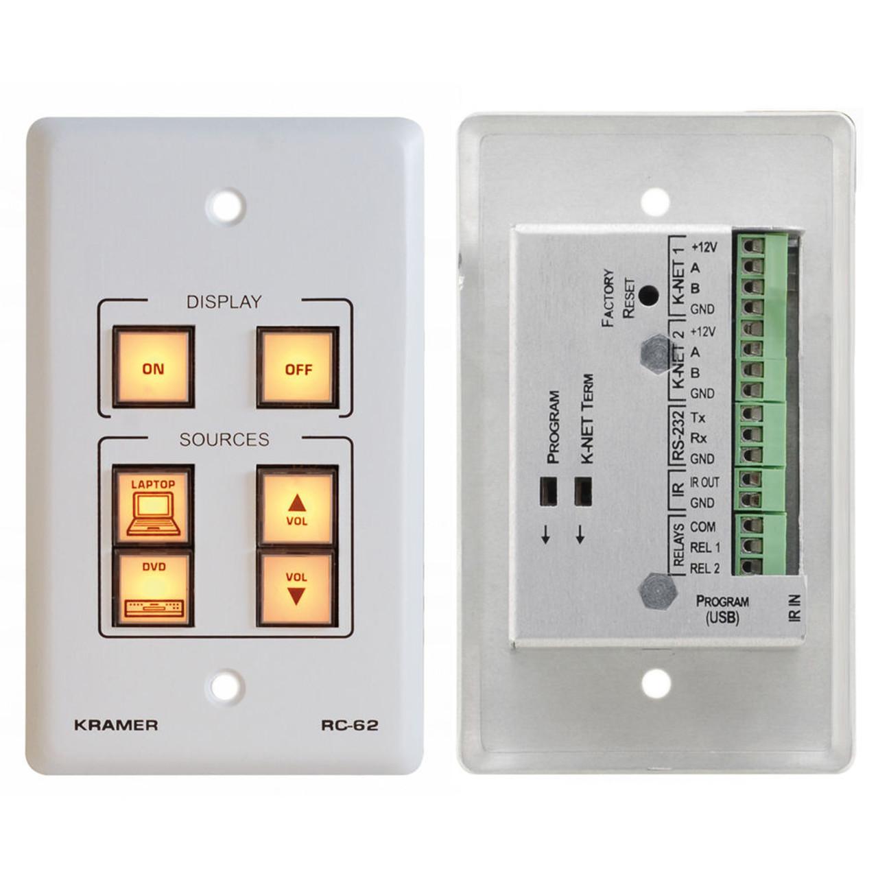 White W Kramer RC-2 2 Button RS-232 Controller