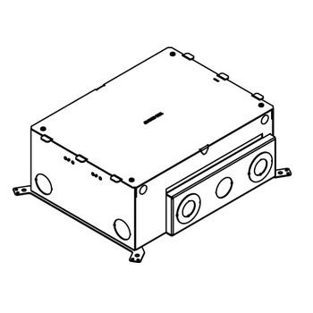 BRAND NEW! Wiremold EFB6S 6 gang floor box