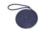 "40'- 18mm (3/4"")  double braid Nylon Dock Line - Black."