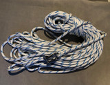 halyard  in double braid complete with shackle spliced on