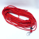 100' - 10mm SuperSpeed pre-made halyard w/ snap shackle