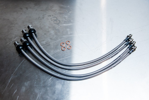 Focus XR5 Turbo Braided brake lines FOR-4-480