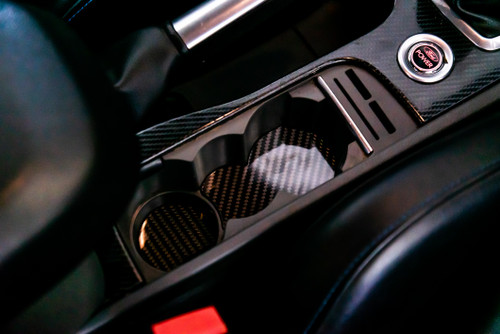 Carbon Fiber center console inserts  LV mk2