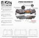 Bremtec Pro Series Front Brake Pads  Focus RS mk2
