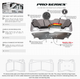 Bremtec Pro Series Rear Brake  Focus RS mk2