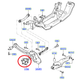 Focus XR5 Rear wheel bearing / Hub
