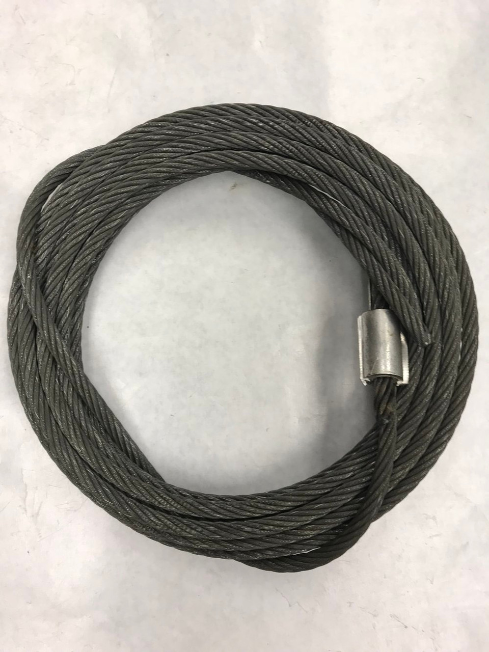 "Tommy Lift #004624 Lift Cable W/Rivet 5/16"""