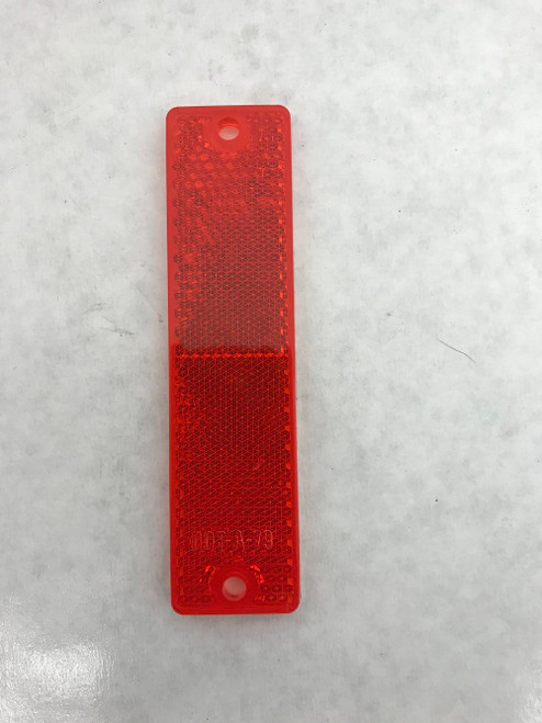 grote-40132-red-rectangle-stick-on-reflector-4-14x1