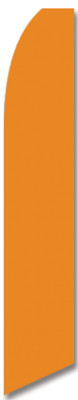 Swooper Flag - Orange Blank