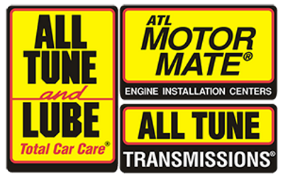 All Tune and Lube Oil Change Stickers