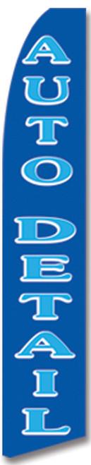 Swooper Flag - Blue Auto Detail
