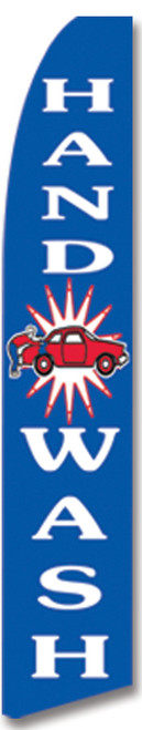 Swooper Flag - Blue Handwash