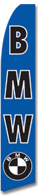 Swooper Flag - Blue Bmw Logo