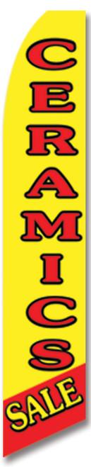 Swooper Flag - Yellow Red Ceramics Sale