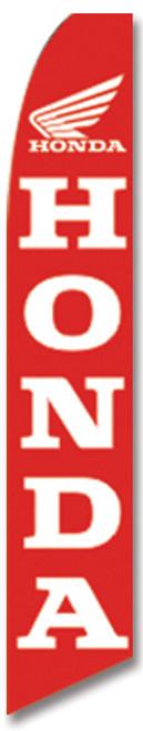 Swooper Flag - Red Honda Logo
