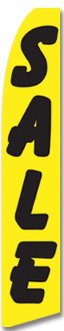 Swooper Flag - Yellow Black Sale