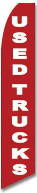 Swooper Flag - Red Used Trucks