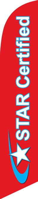 STAR CERTIFIED - 15 Ft Flag