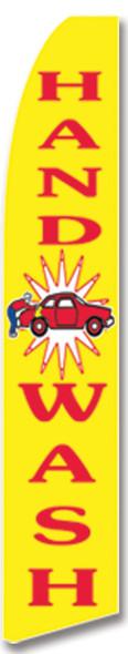 Swooper Flag - Yellow Handwash