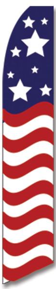 Swooper Flag - Red White Blue American Glory 2