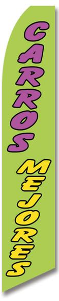 Swooper Flag - Green Carros Mejores