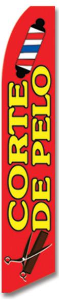 Swooper Flag - Red Corte De Pelo Picture