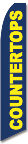 Swooper Flag - Blue Countertops