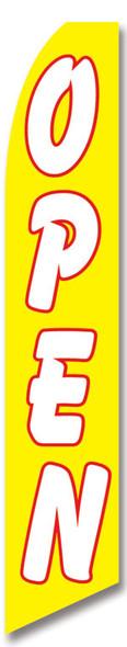 Swooper Flag - Yellow Open