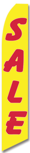 Swooper Flag - Yellow Red Sale