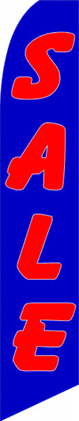 Swooper Flag - Blue Red Sale