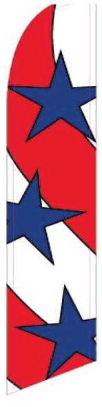 Swooper Flag - Red White Blue Stars Stripes