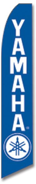Swooper Flag - Blue White Yamaha Logo