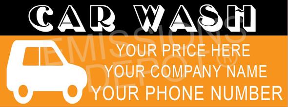 Car Wash - Semi Custom 2 | Vinyl Banner