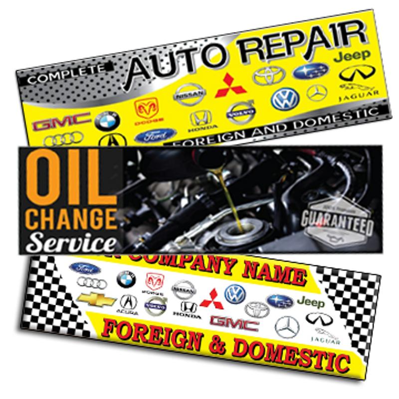 Automotive Vinyl Banners