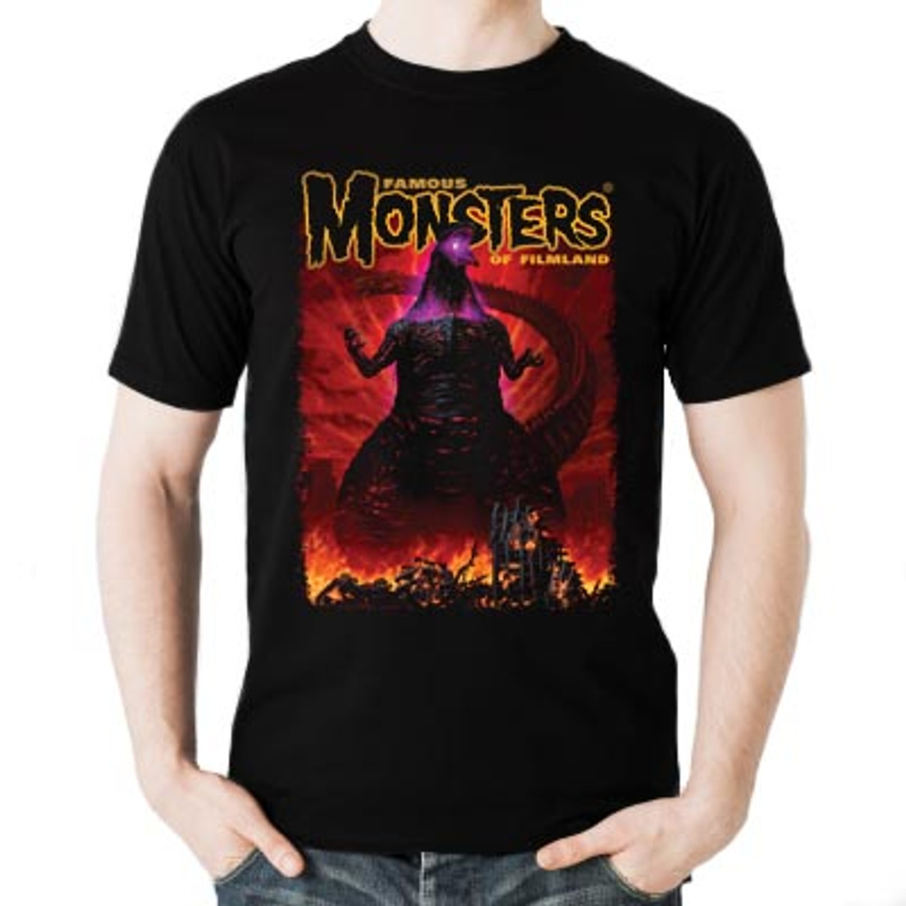 b9c72f39 Shin Godzilla Famous Monsters Convention Exclusive Tee front view