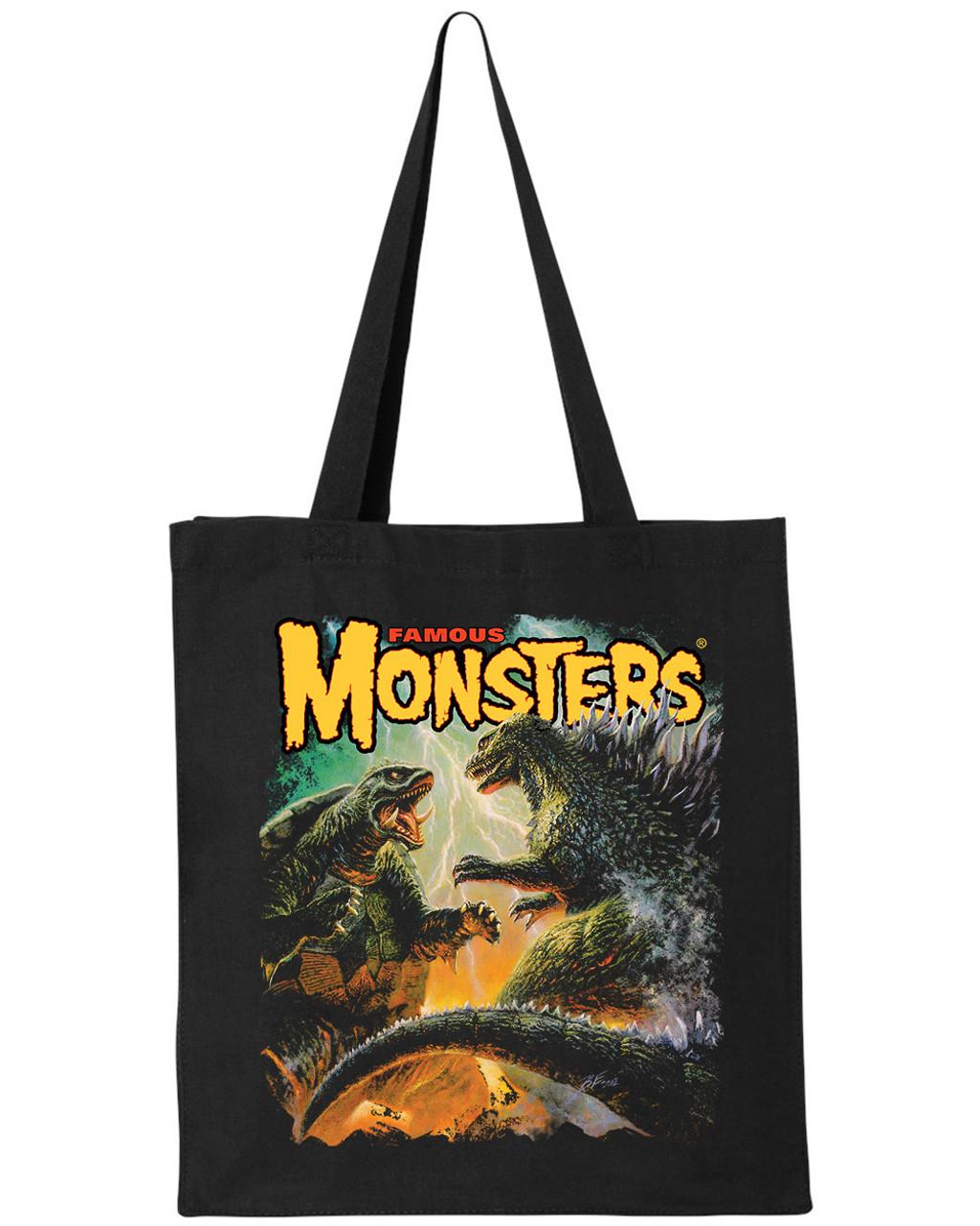 Famous Monsters Godzilla Vs Gamera Tote