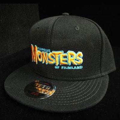 723462f7f4e Orange Famous Monsters Logo Snapback (Black) - Captain Company