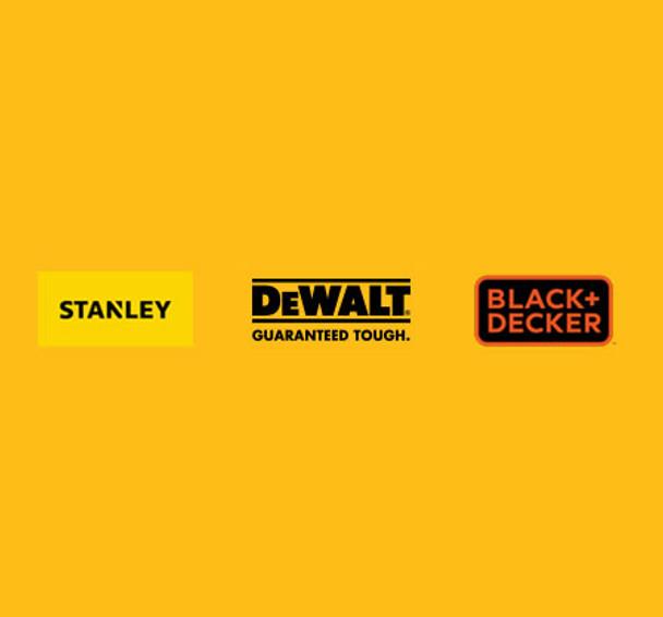 DeWalt Stanley Black & Decker Genuine Replacement Parts Logo