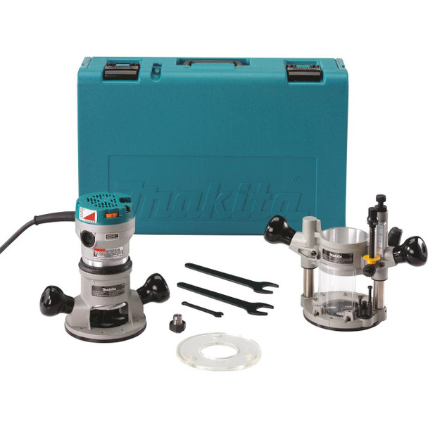 2-1/4 HP* Router Kit, with Plunge Base