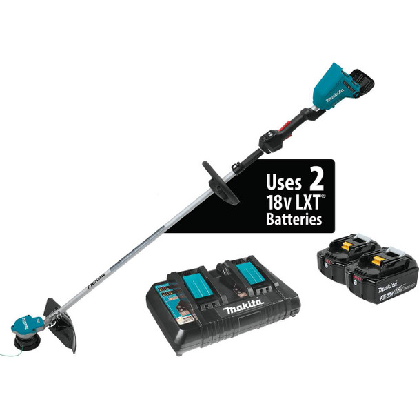 18V X2 (36V) LXT Lithium-Ion Brushless Cordless String Trimmer Kit (5.0Ah)