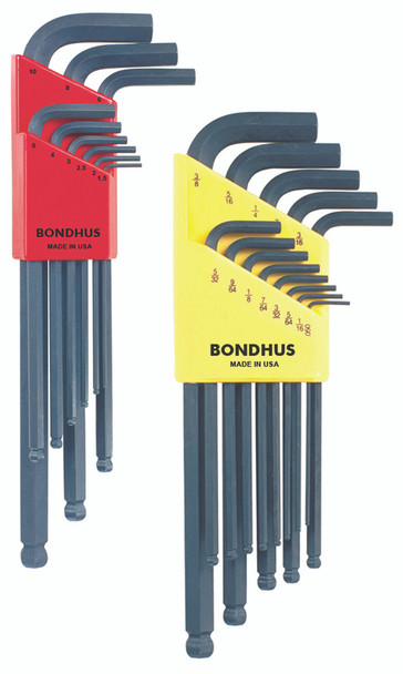 """Set 22 Ball End L-Wrenches In/Mm Double Pack - 10937 (.050-3/8"""") + 10999 (1.5-10Mm) - 20199 - Quantity: 1"""