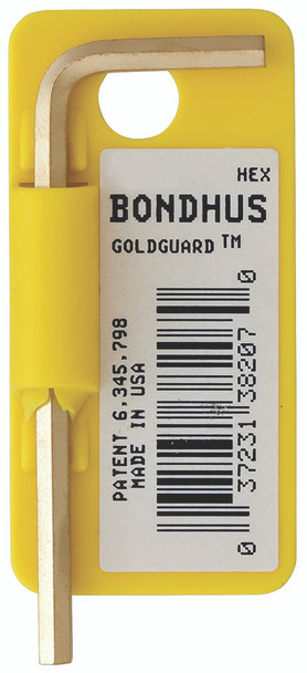 """.028"""" Goldguard Plated Hex L-Wrench - Short    Tagged/Barcoded - 38200 - Quantity: 10"""