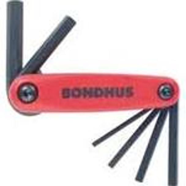 Set 6 Hex Gorillagrip Fold-Up Tools 3-10Mm - 12595 - Quantity: 1