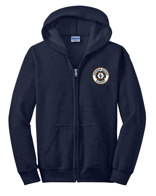 Full Zip Sweatshirt with Hoodie