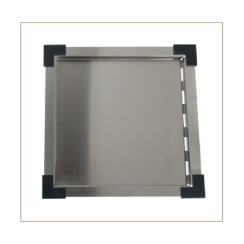 UPTOWN STAINLESS STEEL DRAIN TRAY FITS VARIOUS SINKS - UTDT