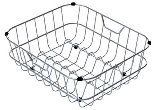 ABEY STAINLESS STEEL RINSING BASKET WITH HIGHER ROUND SIDES - DR006