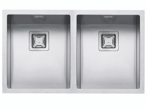 ABEY BARAZZA CUBO SQUARE DOUBLE BOWL SINK - AFS400D