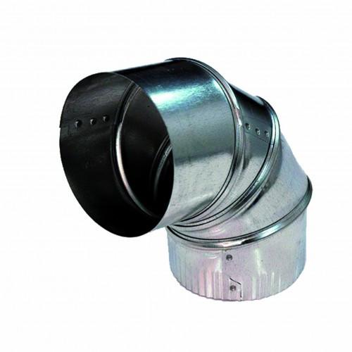 DEFLECTO ADJUSTABLE SOLID ELBOW - 200mm - ELBS089030