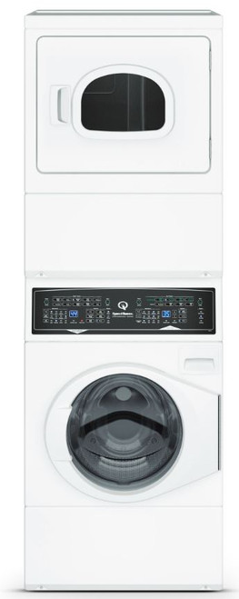 SPEED QUEEN 10KG WASHER + 8.2KG DRYER STACK - ATEE9A/ATGE9A-GAS-N/ATGE9A-GAS-LP