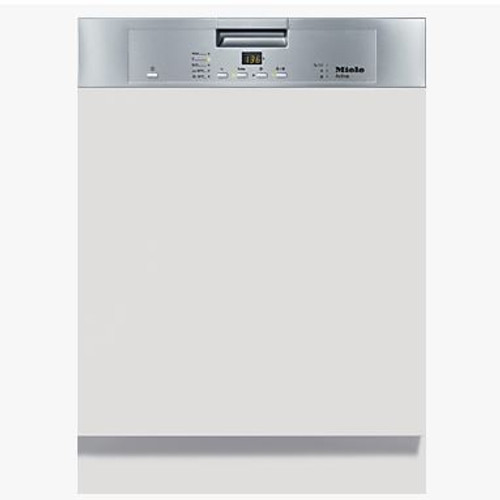 MIELE ACTIVE CLEAN STEEL SEMI INTEGRATED DISHWASHER - G4203i